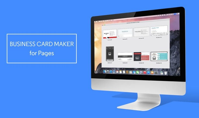 business card maker for pages edealo