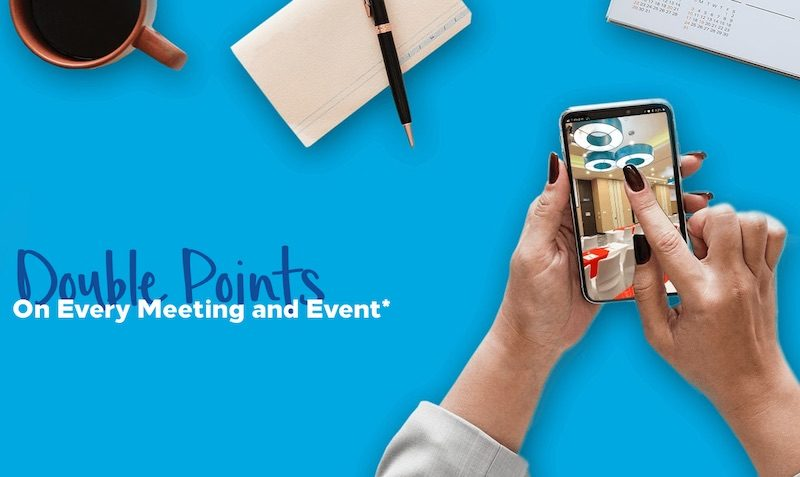 Hilton Honors Double Points For Meetings & Events