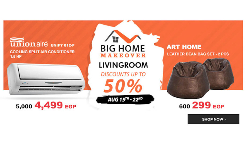 Living Room 50 Off 50% off living room furniture at jumia egypt for home makeovers