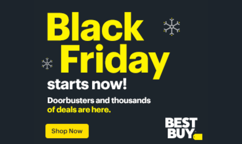 Best Buy Black Friday DEALS are Here!