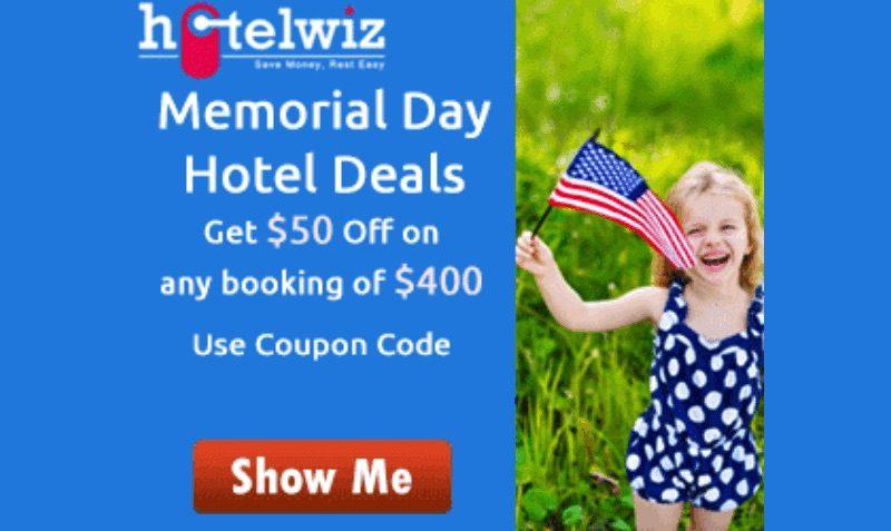 Memorial Day Travel Deals hotelwiz
