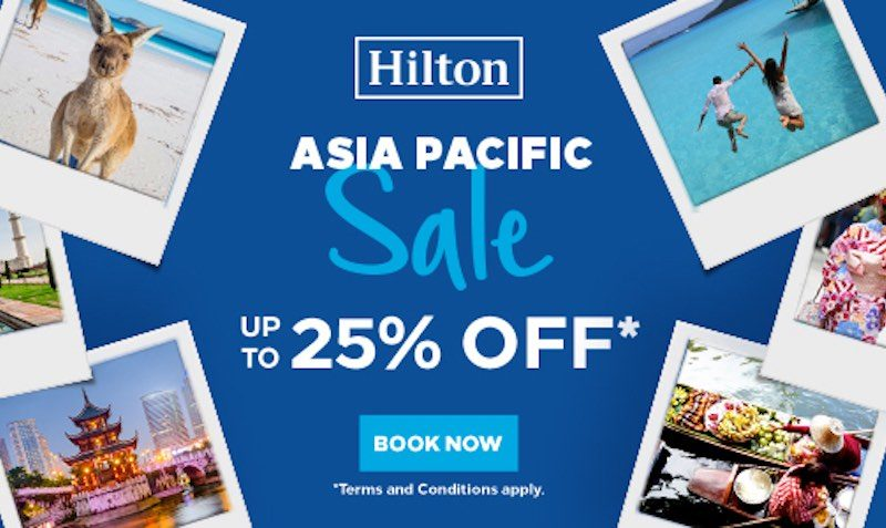 Hilton have launched an APAC Year End Sale!