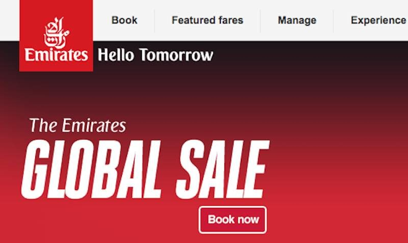 So, buy tickets and fly when holidays are not on most people's mind. Emirates and Etihad have their sale period running right now. Both airlines are offering reduced air fare on an extensive.