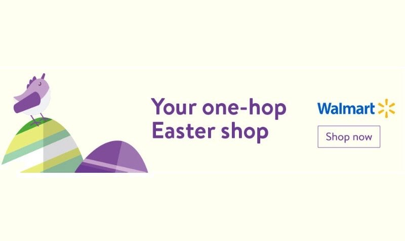 Hop Over for Easter Savings at Walmart.com!
