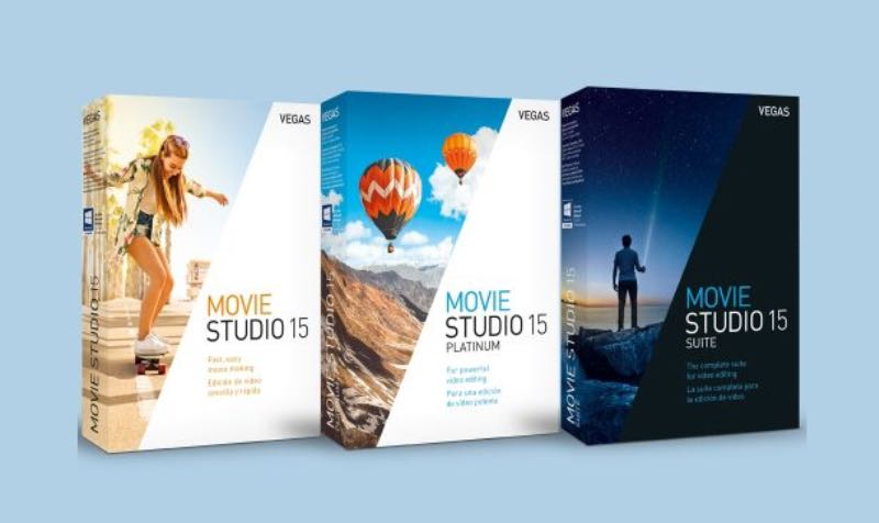 Save 50% on the VEGAS Movie Studio and VEGAS Movie Studio Suite with the coupon code