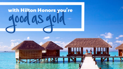 hilton gold status challenge