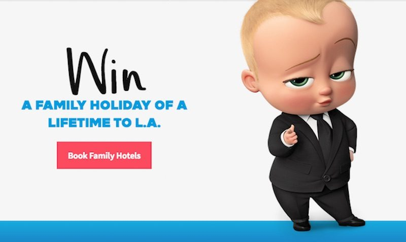 HILTON BOSS BABY GIVEAWAY