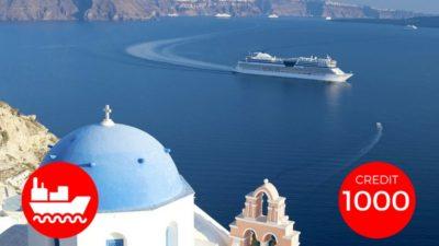 expedia cruise credit