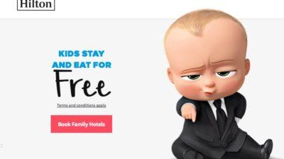 hilton kids eat free
