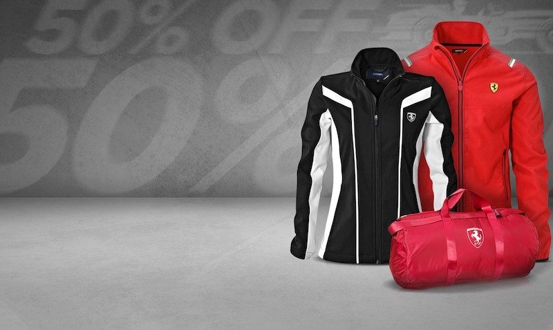 Ferrari Store 50% off