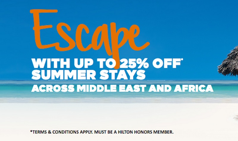 HILTON MIDDLE EAST SALE