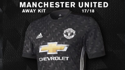 Manchester United 2017/18 Away Kit
