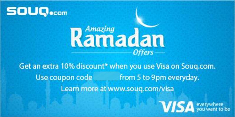10% Off VISA Coupon at Souq com UAE | EDEALO