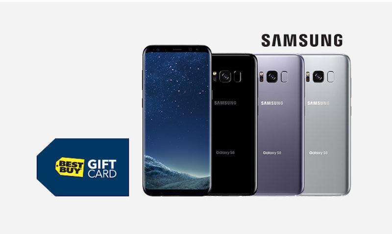 Best Buy Samsung S8: Get $150 Gift Card - EDEALO