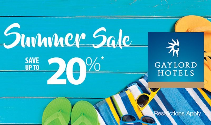 gaylord summer sale