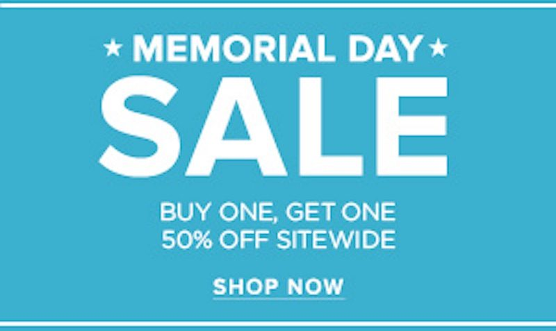 pacsun memorial day sale