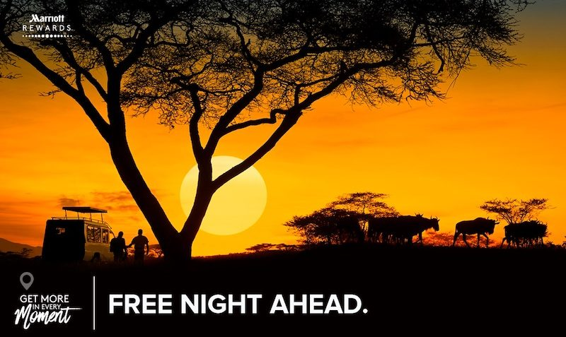 marriott free night