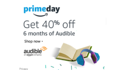 Prime Day Audible