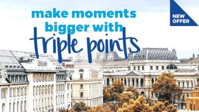 Triple Points at Hilton Hotels
