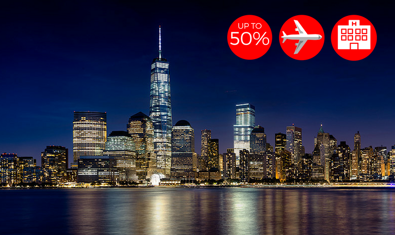 new york travel sale booking com