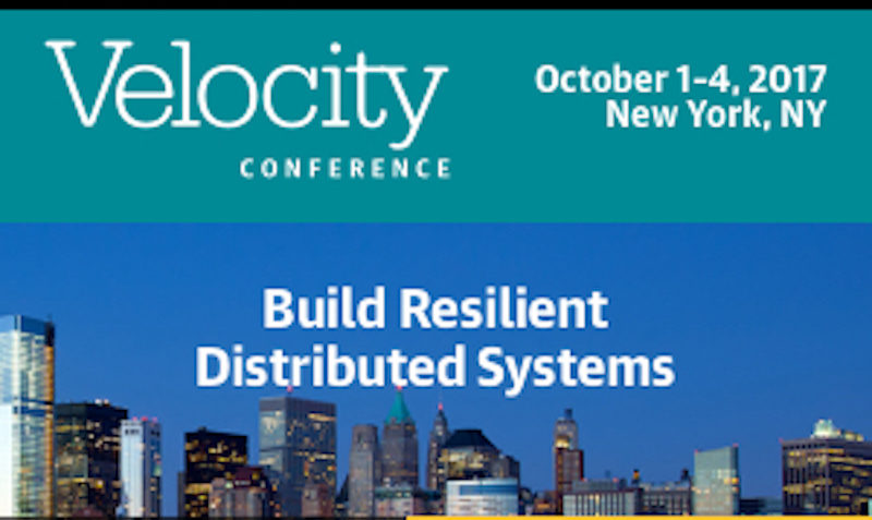 20% O'Reilly Velocity Conference coupon in New York