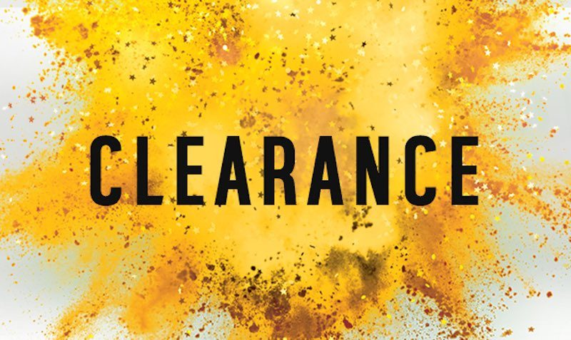 CLEARANCE at Argos