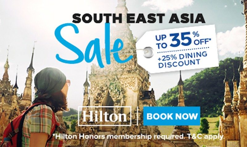 South East Asia Sale! Up to 35% Off* & 25% Dining Offer. Book by 24th September to Enjoy!