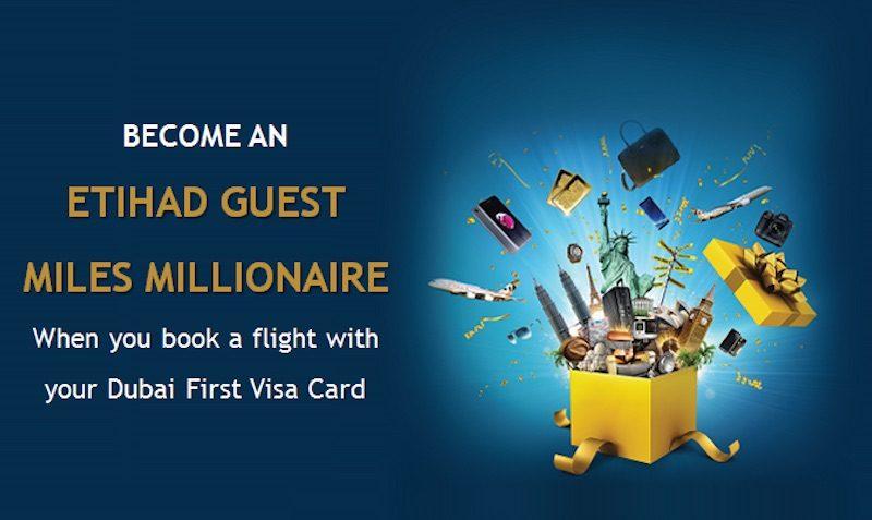 Visa Etihad millionaire CONTEST