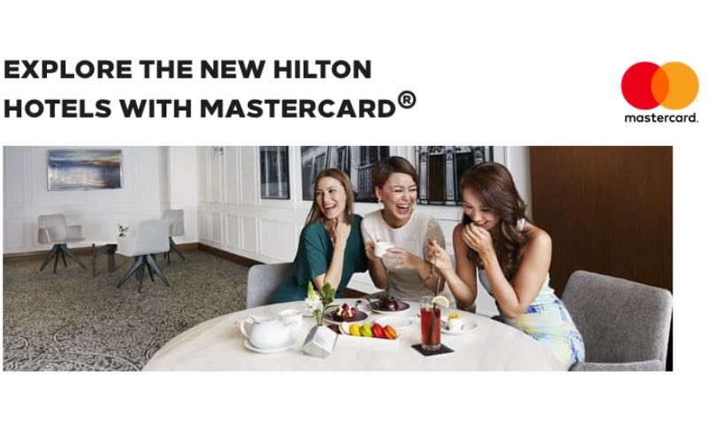 complimentary night on us when you book a 3-night stay using your Mastercard at selected new hotels & resorts within the Hilton
