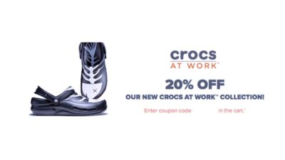crocs work coupon