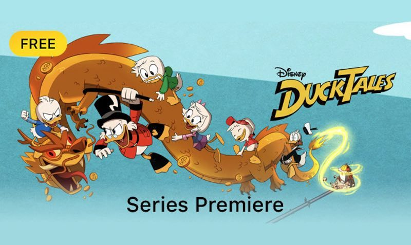 duck tales premiere