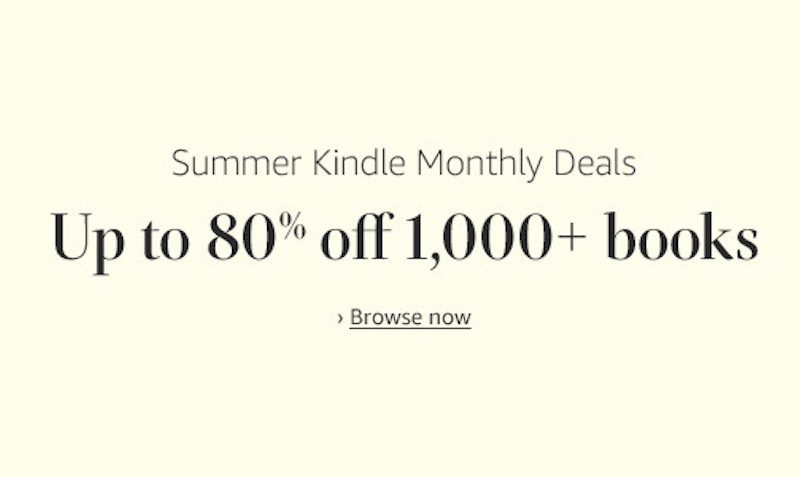 summer kindle sale