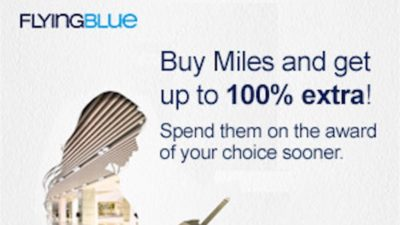 Bonus Flying Blue Miles at Points.com