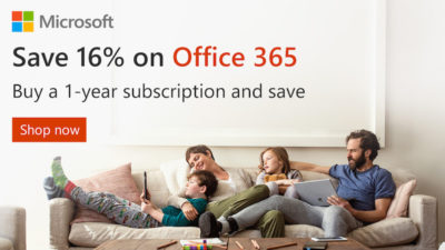 16% Off SALE on Office 365 at Microsoft
