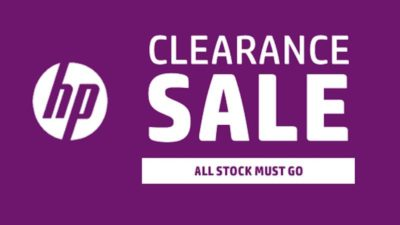 CLEARANCE SALE at HP Store