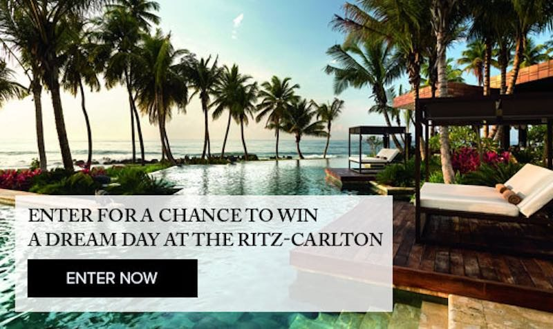 Ritz Carlton Giveaway Contest