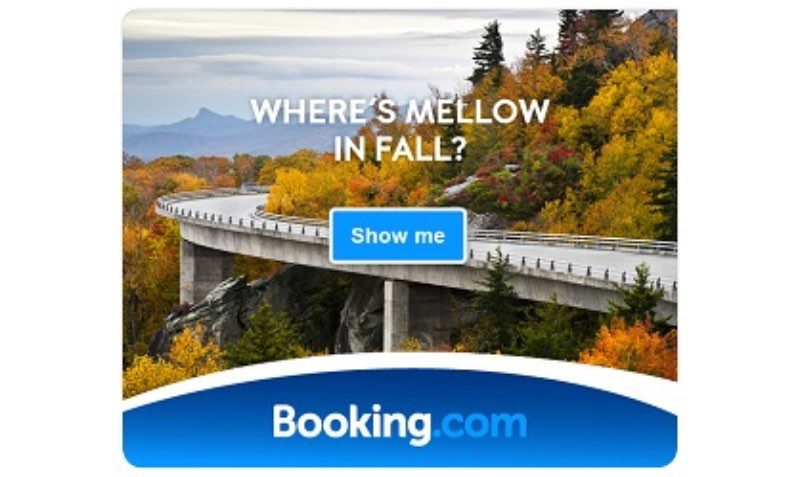 SALE 50% FALL BOOKING.COM