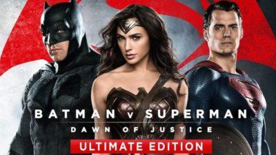 Wonder Woman & Batman v Superman- Dawn of Justice Ultimate Edition Bundle