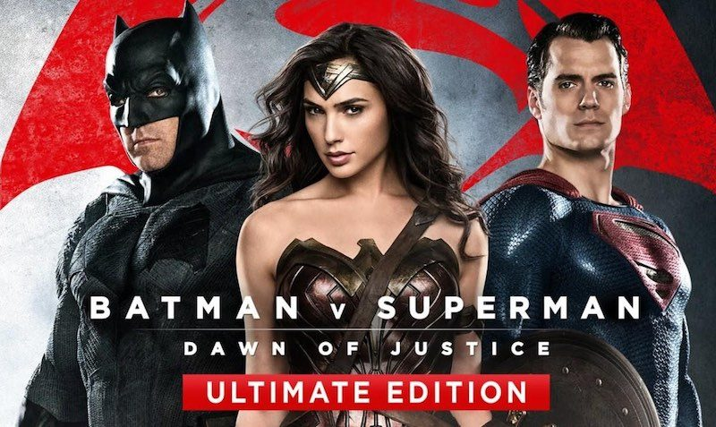 Wonder Woman & Batman v Superman- Dawn of Justice Ultimate Edition Bundle