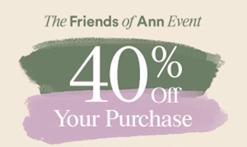 Ann taylor coupons and discounts