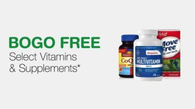 bogo vitamins walgreens