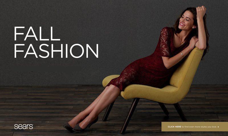 fall fashion sale sears