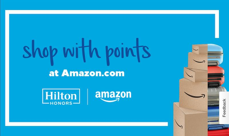 Shop with Hilton Honors Points at Amazon.com