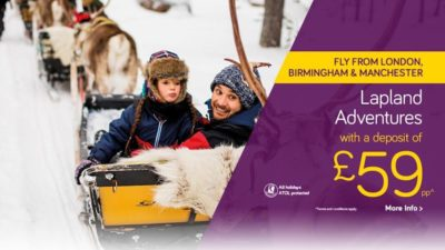 Lapland Holidays from £50pp at Monarch Holidays UK