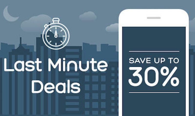 last minute sale hotels.com
