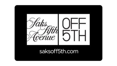 saks off5th gift card