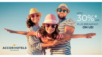 30% Off Summer SALE at Accor Hotels