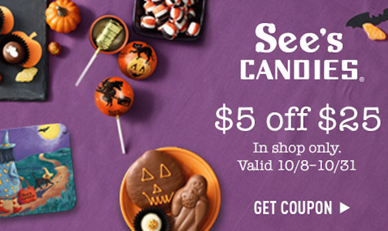 $5 Off at See's Candies