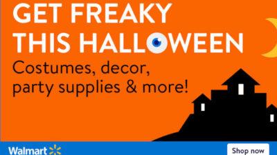 Halloween Supplies at Walmart