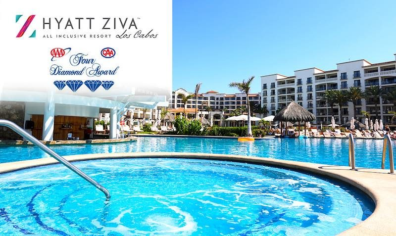 Upto 60% Off at Hyatt Ziva Los Cabos